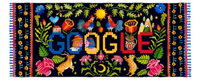Compania Google ne întâmpină, astăzi, cu un logo menit să ne producă bucurie nouă, românilor de pretutindeni
