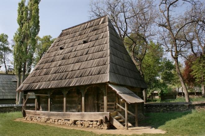 Muzeul satului: Gospodărie din Berbeşti, Maramureş, 1775