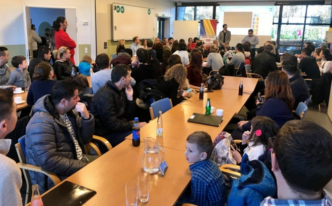 Întâlnirea Ambasadorului României în Danemarca cu membrii comunității românești din regiunea Kolding